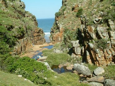 The deeply-incised gorges on the Pondoland Wild Coast have mostly  precluded development , but also keeps the area a pristine piece of paradise.
