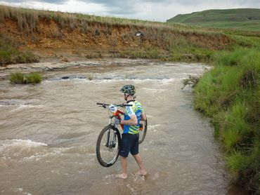 During summer months, a few of the river crossings may provide more than an ankle-deep whetting.