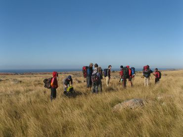 Backpacking through the grasslands of the Eastern Cape, Wild Coast.